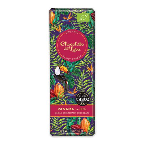 Image of Chokolade Panama 80% Økologisk - 40 gram