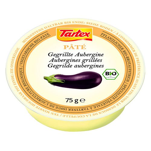Tartex Patè creme Grillet Aubergine Ø - 75 g