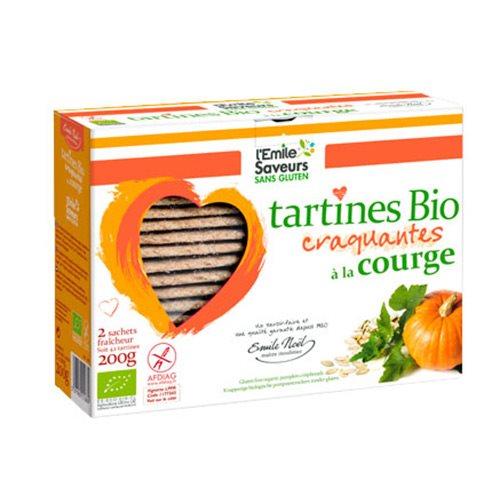 Knækbrød med græskar glutenfri Øko - 200 gram