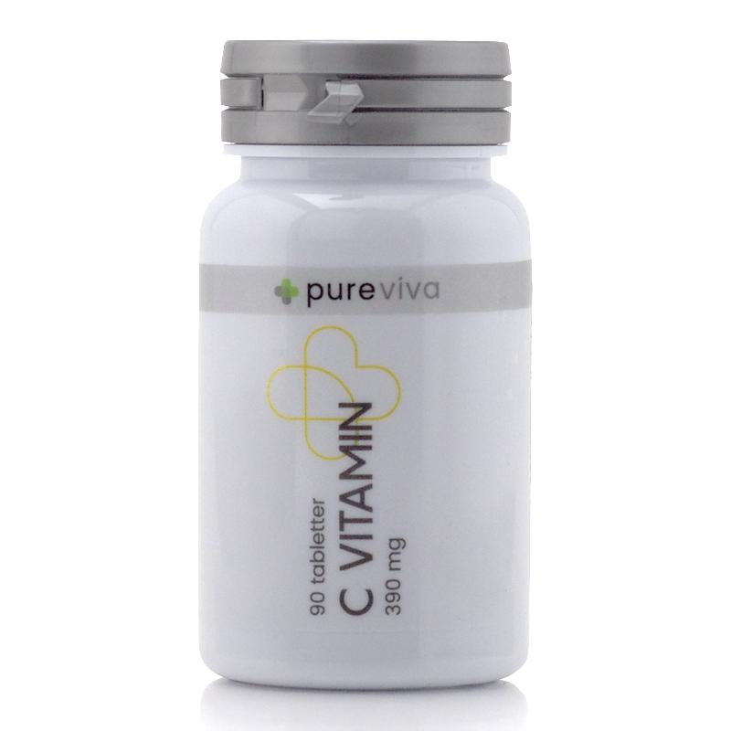 Image of   Pureviva C Vitamin 390mg (90 tab)