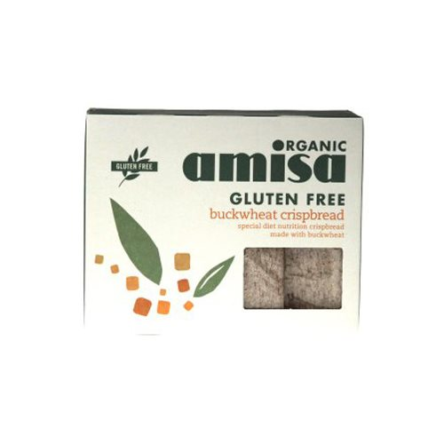 Image of Boghvede knækbrød økologiske Amisa - 150 gram