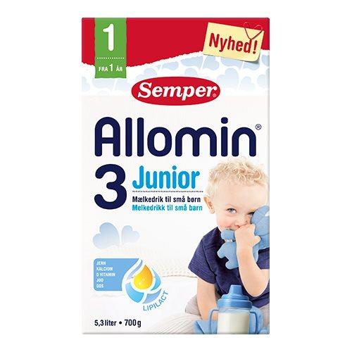 Image of Allomin 3 junior tilskudsblanding fra 1 år - 700 g
