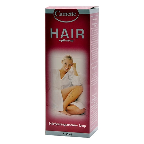 Image of   HAIR Hårfjerningscreme til kroppen 100 ml.