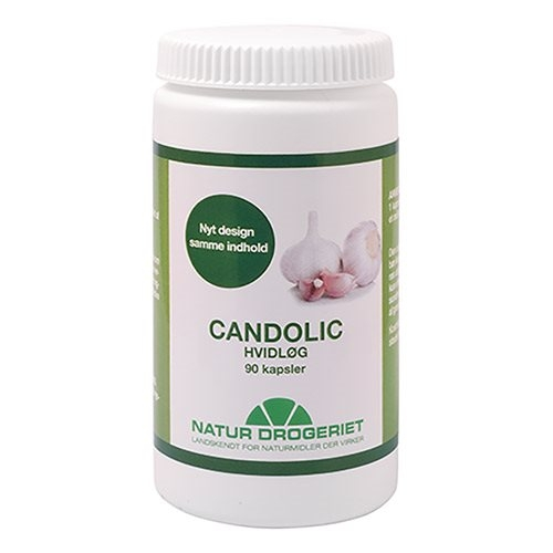 Image of Candolic Hvidløgskapsler 500 mg - 90 stk