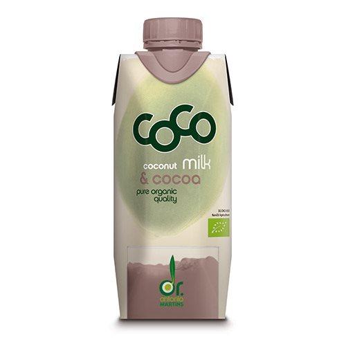 Image of Kokosdrik med kakao Økologisk - 330 ml.