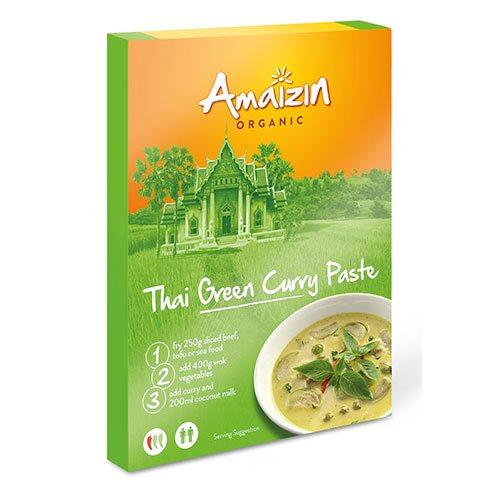 Image of Amaizin Karry pasta Grøn Thai Ø (80 g)