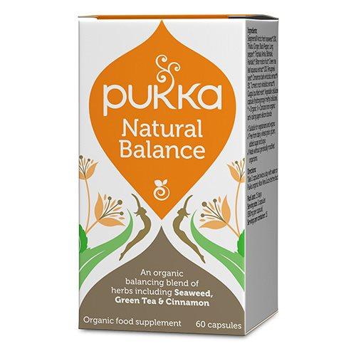 Image of   Pukka Natural Balance Økologiske - 60 kapsler