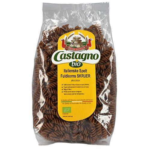 Image of   Fuldkorns Speltskruer fra Castagno Øko - 500 gram