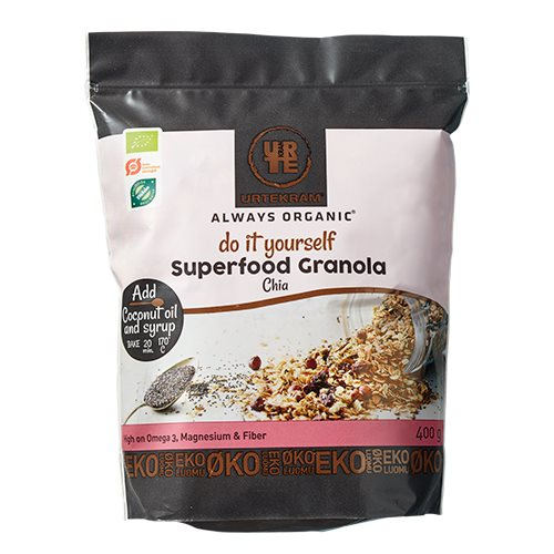 Image of   Urtekram Granola Superfood Chia Ø
