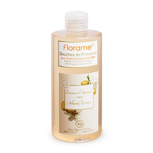 Florame Showergel Almond Essense - 500 ml.