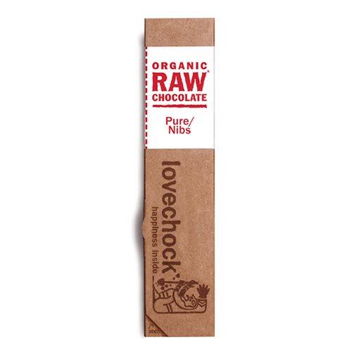 Image of Lovechock RAW chokolade kakaonibs Øko - 40 gram