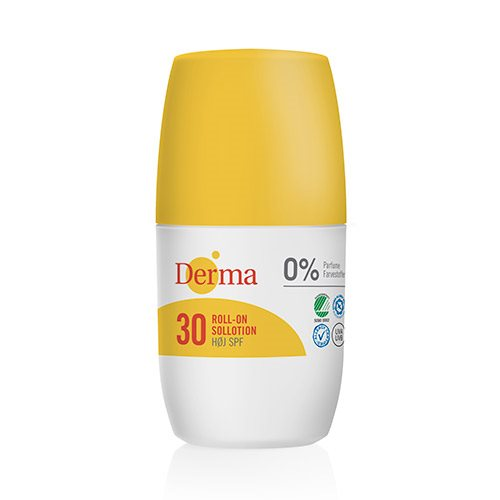 Image of   Derma roll-on sollotion SPF30 (50 ml)