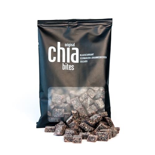 Image of Chia Bites Frugtsnack med solbær - 50 gram