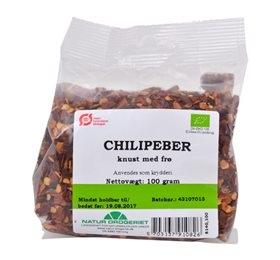 Image of   Chili - knust med frø økologisk - 100 g