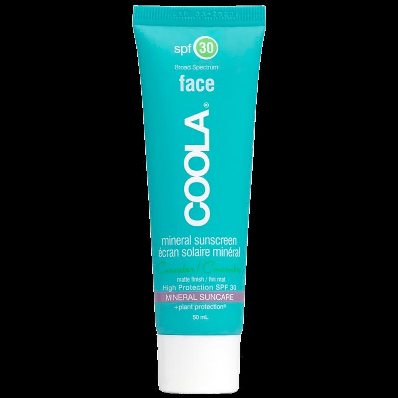 Coola Mineral Face Matte Cucumber SPF 30 - 50 ml.