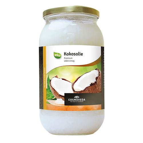 Billede af Kokosolie uden smag koldpresset økologisk - 900 gr