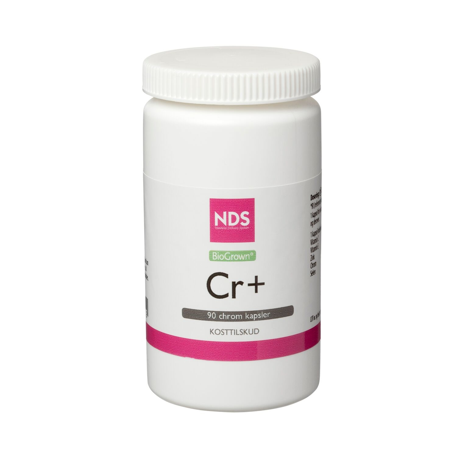Image of NDS Cr+ Chrom 60 mcg - 90 tabletter