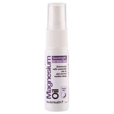 NordicHealth, Magnesium Spray GoodNight