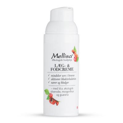 Mellisa Læg og fodcreme - 50 ml