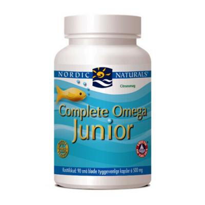 Nordic Naturals Complete Omega Junior med citrussmag (90 kap.)