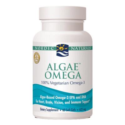 Nordic Naturals Algae Omega 3 (60 kapsler)