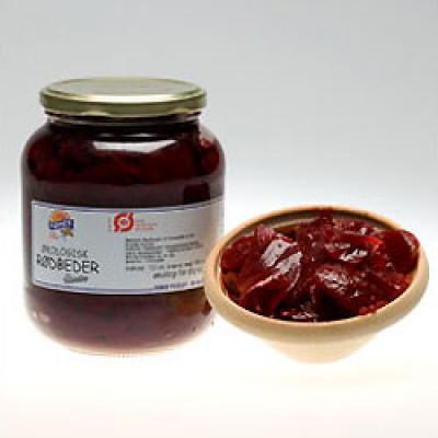 Rødbeder i glas, Demeter Ø 680 gr.