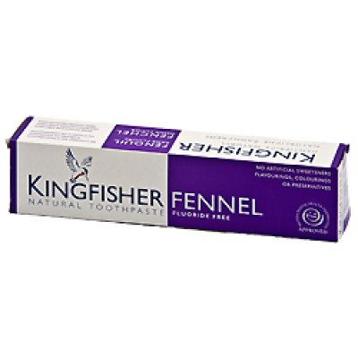 King Fisher Tandpasta med Fennikel u/fluor (100 ml)