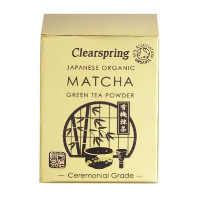 Clearspring Matcha Grøn Te Pulver Ø (30 gr)
