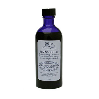 Massageolie 100 ml.