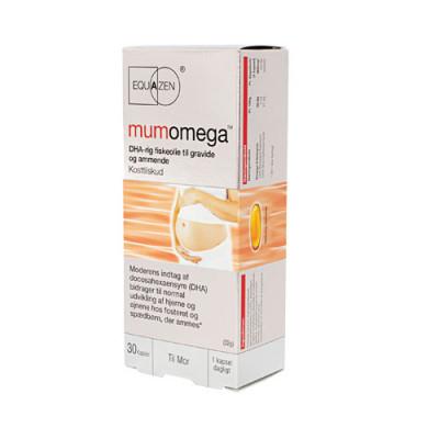 Equazen Mumomega Til Gravide Og Ammende (30 kapsler)