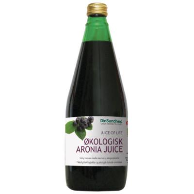 Aronia Juice - Sur saft uden sukker Ø (700 ml)