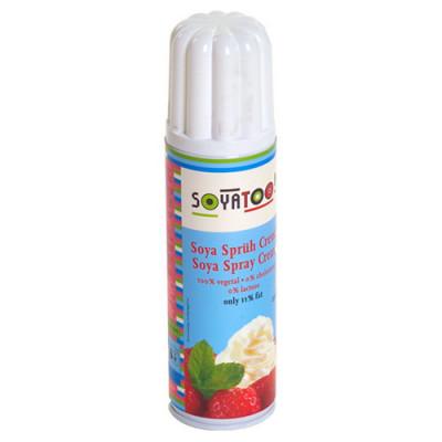 Sojaskum på Spray - Alternativ t. Piskefløde (250 ml)