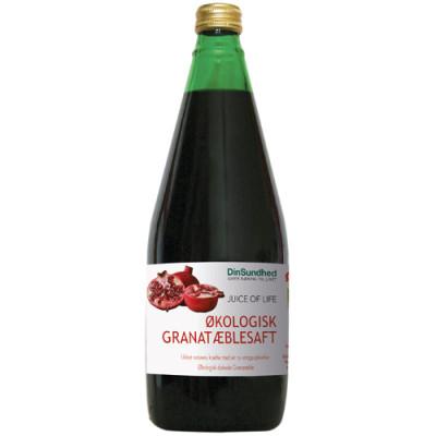 Granatæblesaft uden sukker Ø (750 ml)