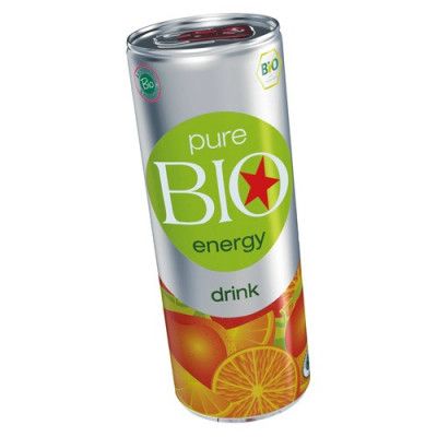 Energidrik Pure Bio Energy Ø (250 ml)