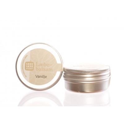 Sæbeværkstedets Læbebalsam Vanille (14 gr)