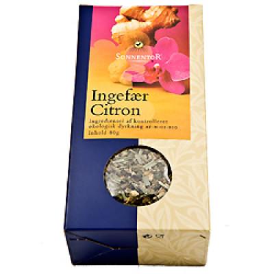 Ingefær Citron Te, Sonnentor Ø 80 gr.
