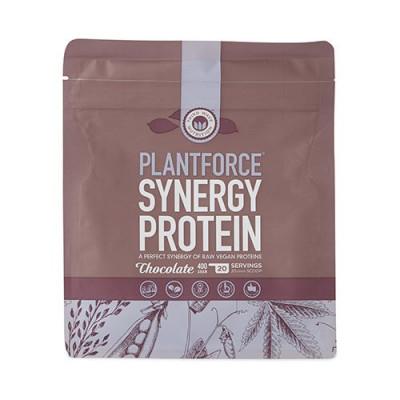 Plantforce Synergy Chokolade Proteinpulver 400 gr