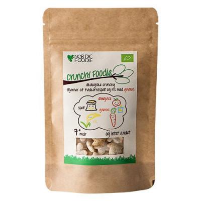 Crunchy Foodie med gulerod Økologisk - 15 gram