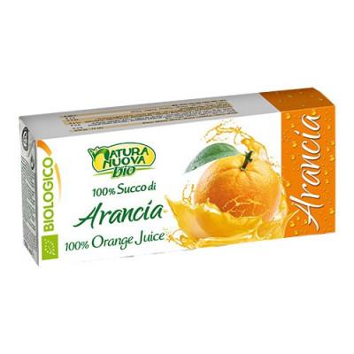 Appelsinjuice Italiensk Økologisk 3 x 200 ml