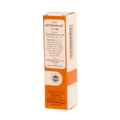 Arthrokehlan U dråber - 10 ml.