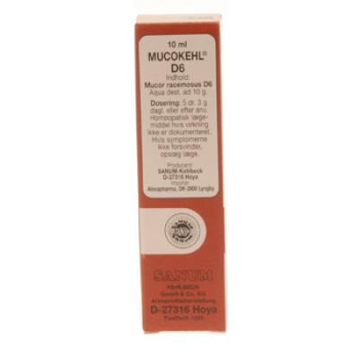 Mucokehl D6 (10 ml)