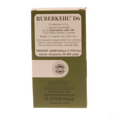 Ruberkehl Stikpiller D6 10 Stk