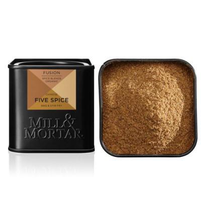 Mill og Mortar Kinesisk Five Spice Krydderiblanding Ø (50 gr)