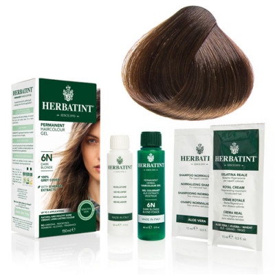 Herbatint 6N hårfarve Dark Blonde - 135 ml.