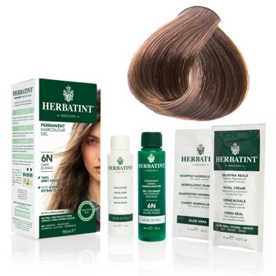 Herbatint 6D hårfarve Dark Golden Blond - 150 ml.