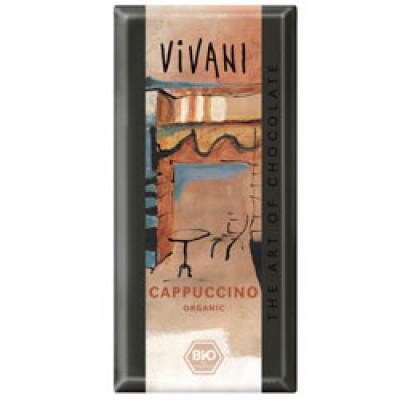 Vivani Cappuchino chokolade Ø 100 gr