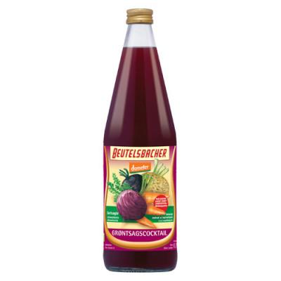 Grøntsagscocktail Ø Mælkesyregæret Demeter Beutelsbacher (750 ml)