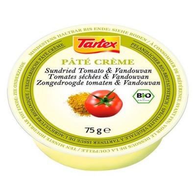 Tartex Patè creme med Soltørret tomat Ø - 100 g