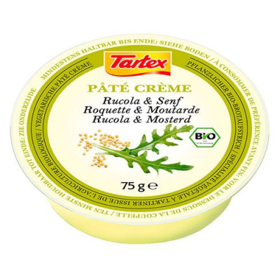 Tartex Patè creme Rucola-Sennep Ø - 75 g