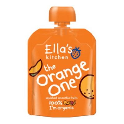 Babysmoothie The Orange One 4 mdr Ø Ellas Kitchen